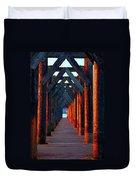 Pier Symmetry   Duvet Cover
