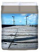 Pier To The Sky Duvet Cover