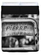 Pierre Duvet Cover