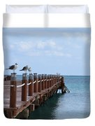 Piers By The Ocean2 Duvet Cover