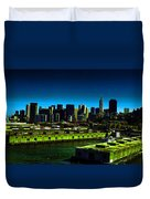 Piers Of San Francisco Duvet Cover
