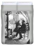 Piet Mondrian (1872-1944) Duvet Cover