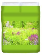 Piet Oudolf Garden At Tbg Duvet Cover