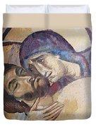 Pieta-mural Detail Duvet Cover