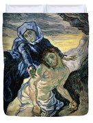 Pieta Duvet Cover by Vincent van Gogh