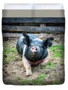 Pig Out Duvet Cover