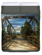 Pigeon Bridge Duvet Cover