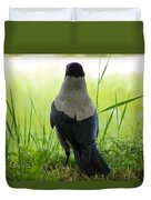 Pigeon With An Attitude Duvet Cover