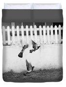 Pigeons Duvet Cover
