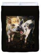 Piggy Love Duvet Cover