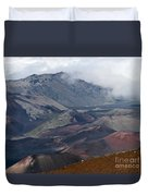 Pihanakalani Haleakala House Of The Sun Summit Maui Hawaii Duvet Cover
