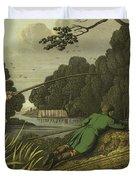 Pike Fishing Duvet Cover