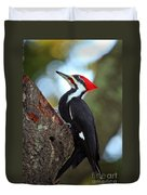 Pilated Woodpecker Duvet Cover