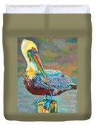 Pile High Pelican Duvet Cover
