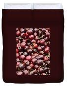 Pile Of Cherries Duvet Cover