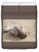 Pile-up On The Beach Duvet Cover
