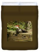 Pileated Woodpecker1 Duvet Cover