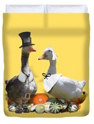 Pilgrim Ducks Duvet Cover