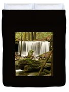 Pillar And Waterfall Duvet Cover