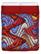 Pillars In The Sky Duvet Cover