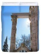 Pillars Of Hercules - The Guild Inn Duvet Cover