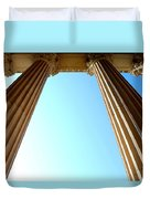 Pillars Of The Sky Duvet Cover