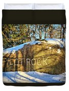 Pilot Rock Iowa Duvet Cover