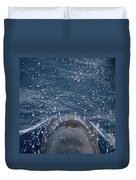 Pilot Whale 7 The Breath Duvet Cover