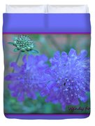 Pin Cushion Flower Duvet Cover