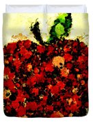 Pinatamiche Painting Crackle Art Duvet Cover