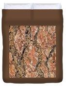 Pine Bark Duvet Cover