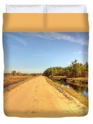 Pine Barrens Of New Jersey Cranberry Harvest Bogs  Duvet Cover