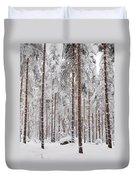 Pine Forest Duvet Cover