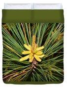 Pine In Bloom Duvet Cover