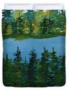 Pine Lake Duvet Cover