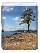 Pine Perch Duvet Cover