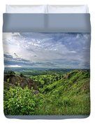 Pine Ridge Nebraska Duvet Cover
