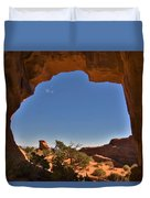 Pine Tree Arch 2 Duvet Cover