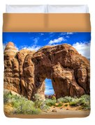 Pine Tree Arch Duvet Cover
