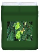 Pine Tree Branches Art Prints Conifer Forest Baslee Troutman Duvet Cover