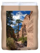Pine Tree Canyon Duvet Cover