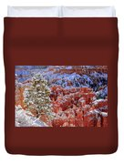Pine Tree In Bryce Canyon Duvet Cover