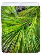 Pine Tree Needles Duvet Cover
