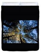 Pine Trees Near Ruidoso Nm Duvet Cover