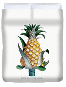 Pineapple, 1789 Duvet Cover