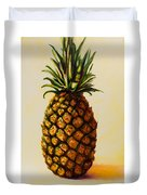 Pineapple Angel Duvet Cover by Shannon Grissom