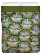 Pineapple Close-up Duvet Cover