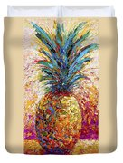 Pineapple Expression Duvet Cover