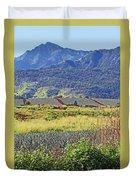 Pineapple Fields Duvet Cover