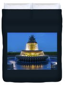 Pineapple Fountain Duvet Cover